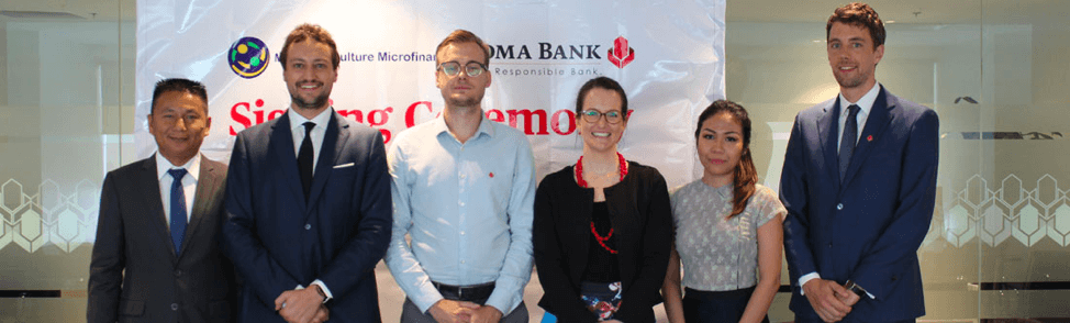 Maha Agriculture Microfinance and Yoma Bank Sign a Funding Agreement