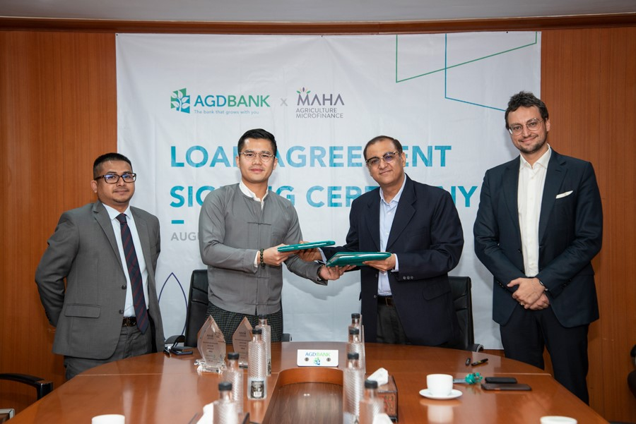 AGD Bank Ltd signs MMK10 Billion Bilateral Loan Agreement with Maha Agriculture Public Co. Ltd